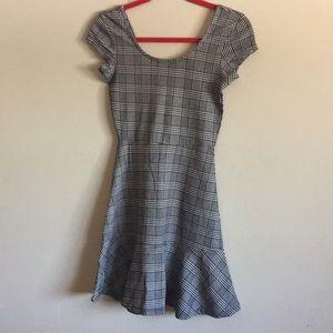 XS Mini Peplum Dress